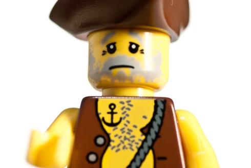 Lego Men, close up