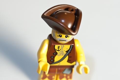 Lego Men, drastic downwards angle