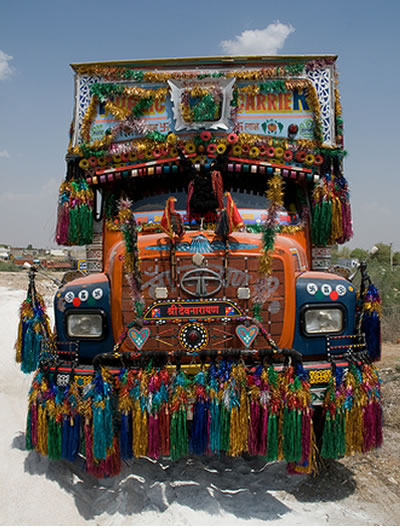 indian truck designs interaction culture the class blog